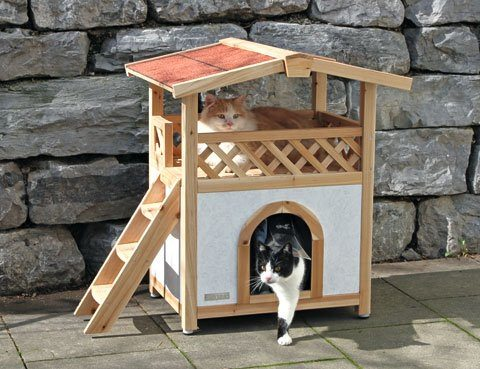 - Niche pour chat exterieur plan ...