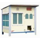 屋外で使える本格的な猫ハウス