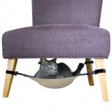 椅子に取り付けるネコ用ハンモック