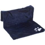 暖房器具にとりつけられる猫のハンモック