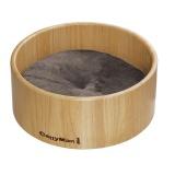 ネコのための木製桶