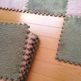 猫が汚しても簡単に掃除できるパネルカーペット