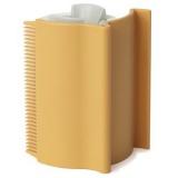細い毛も残さず集められるローラー付きの便利ブラシ