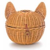 シンプルなネコ型ペーパーホルダー