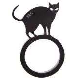 指から飛び出す猫のリング