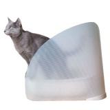 猫砂の飛び散りを防いでトイレを綺麗に使えるトイレカバー
