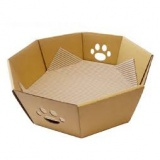 シンプルがいい!ダンボールの猫用ベッド