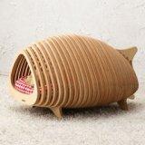 魚の骨の猫ハウス