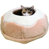 土鍋の形の猫ベッド