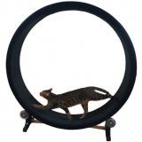 ハムスターみたいに遊べる猫の回し車