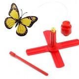 自動でくるくるまわる蝶々のおもちゃ