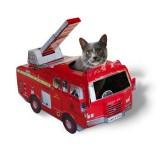 猫が乗れる消防車