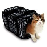 猫の通院に便利なネット付きキャリーバッグ