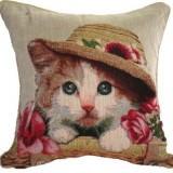 ソファにおきたい猫のクッションカバー
