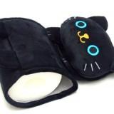 黒猫のペーパーホルダー