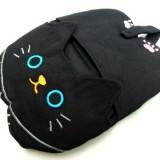 黒猫のミトン