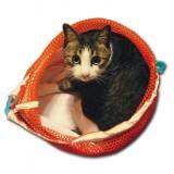 通院に便利な猫の巾着ネット