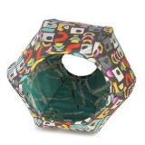 六角形の猫用デザイナーズハウス