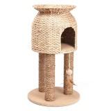 人気の猫ちぐらのようなキャットタワー