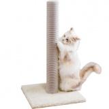 大きな猫も思い切り使えるロング爪とぎポール