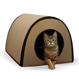 屋外でも使える暖房付きキャットハウス