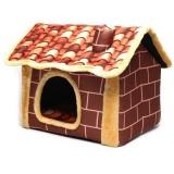 レンガ造りみたいな猫ハウス