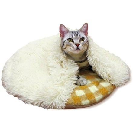 猫ぶくろ保温クッション