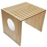 猫トイレをおしゃれな空間に変える木製トイレカバー