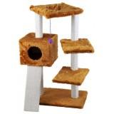 子猫に優しいミドルサイズのキャットタワー