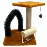 小さい空間に必要なものを詰め込んだ小型の猫タワー
