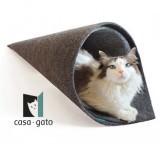 手巻き寿司みたいな猫ベッド