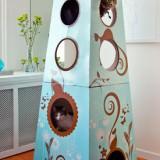 アーティステックな猫のお城 – Catemporary Cat Castle from The Refined Feline