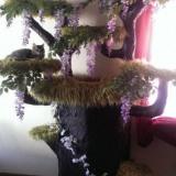 本物の樹木みたいなキャットツリーとその作り方