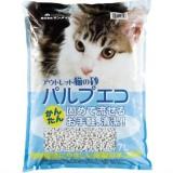 再生紙を利用した環境にも優しい猫砂