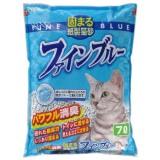 脱臭力に優れた再生紙の猫砂