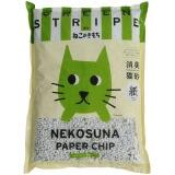 緑の消臭粒入りで愛猫の尿のニオイをシャットアウト