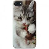 オリジナルプリント.jpの「iPhone5オリジナルスマホケース」で猫を印刷したオーダーメイドスマホケースを作ってみました。最新のiPhone7でも作れます。