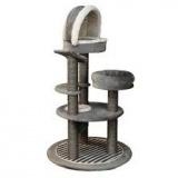 円型デザインのおしゃれなキャットタワー