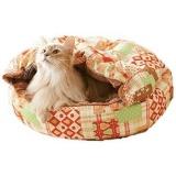 電気いらずでぽかぽかな寝袋タイプの猫ベッド