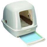 猫砂の掃除がしやすい人気のフード付きトイレ