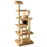 大きな猫も安心して使えるキャットタワー