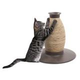 花瓶としても使える筒型爪とぎ