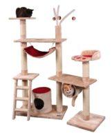 お昼寝から遊びまでこれ一台でできるフルスペックのキャットタワー