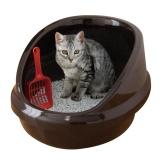 ハーフドーム型の猫トイレ