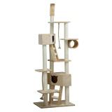 復数の猫で仲良く使える突っ張り型キャットタワー