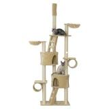 子猫からシニアまでずっと使える突っ張り型タワー