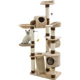 猫が喜ぶ機能満載のキャットタワー