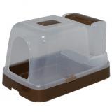 猫砂の補充が簡単にできる猫トイレ