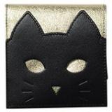 猫の表情が変化する猫財布