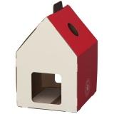 赤い三角屋根が可愛いつめとぎハウス